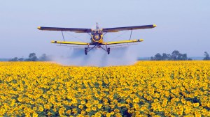 There will always be a time and a place for crop dusting