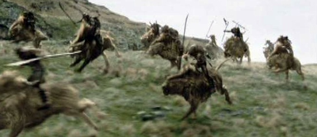 wargs action shot on hill