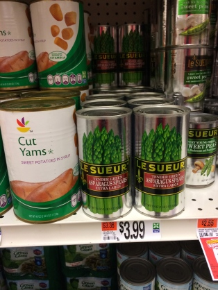 WOW; A Whole new can size I've never seen before!