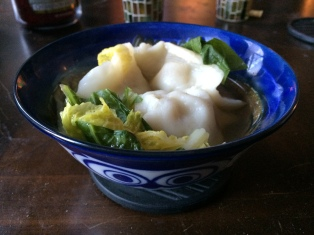 These dumplings once existed in the world... now they are gone.