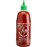 "A picture of the bottle with a rooster on it in case my Grandmother didn't understand the ""cock sauce"" reference."